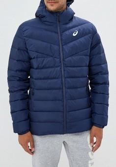 Пуховик, ASICS, цвет: синий. Артикул: AS455EMCHED5. Одежда / Верхняя одежда / Пуховики и зимние куртки