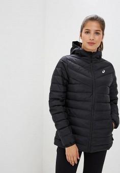 Пуховик, ASICS, цвет: черный. Артикул: AS455EWCHEE3. Одежда / Верхняя одежда / Зимние куртки