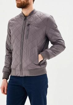 Куртка утепленная, Baon, цвет: серый. Артикул: BA007EMAYEZ6. Одежда / Верхняя одежда