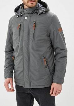 Куртка утепленная, Baon, цвет: серый. Артикул: BA007EMAYFA3. Одежда / Верхняя одежда