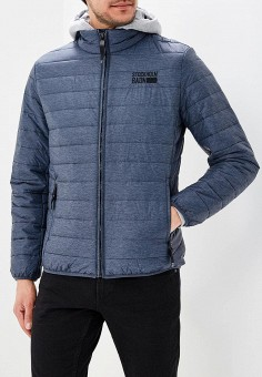 Куртка утепленная, Baon, цвет: синий. Артикул: BA007EMAYFA5. Одежда / Верхняя одежда