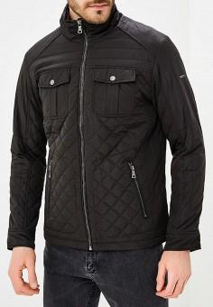 Куртка утепленная, Baon, цвет: черный. Артикул: BA007EMAYFA7. Одежда / Верхняя одежда