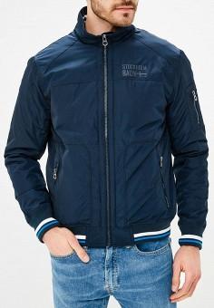 Куртка утепленная, Baon, цвет: синий. Артикул: BA007EMAYFA8. Одежда / Верхняя одежда