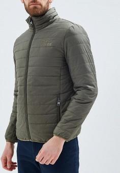 Куртка утепленная, Baon, цвет: хаки. Артикул: BA007EMAYFB0. Одежда / Верхняя одежда