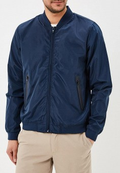 Ветровка, Baon, цвет: синий. Артикул: BA007EMAYFB9. Одежда / Верхняя одежда