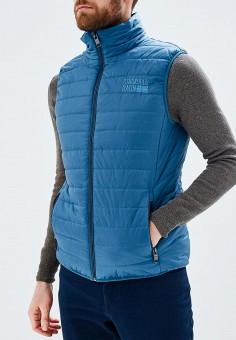 Жилет утепленный, Baon, цвет: синий. Артикул: BA007EMAYHZ0. Одежда / Верхняя одежда