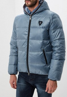 Пуховик, Baon, цвет: синий. Артикул: BA007EMCLAG6. Одежда / Верхняя одежда / Пуховики и зимние куртки