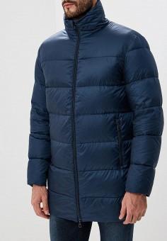 Пуховик, Baon, цвет: синий. Артикул: BA007EMCLAH0. Одежда / Верхняя одежда / Пуховики и зимние куртки