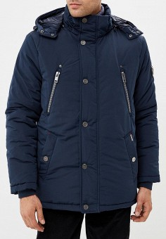 Куртка утепленная, Baon, цвет: синий. Артикул: BA007EMCLAH6. Одежда / Верхняя одежда / Пуховики и зимние куртки