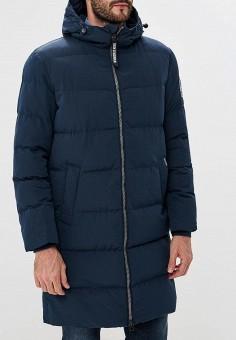 Куртка утепленная, Baon, цвет: синий. Артикул: BA007EMCLAI4. Одежда / Верхняя одежда / Пуховики и зимние куртки