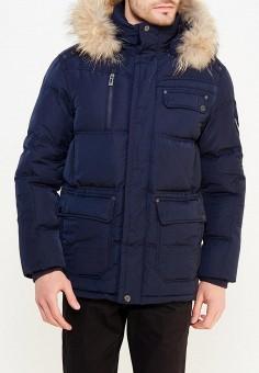 Пуховик, Baon, цвет: синий. Артикул: BA007EMWBA66. Одежда / Верхняя одежда / Пуховики и зимние куртки