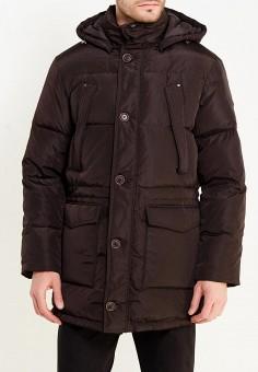 Пуховик, Baon, цвет: коричневый. Артикул: BA007EMWBA77. Одежда / Верхняя одежда