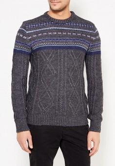 Джемпер, Baon, цвет: серый. Артикул: BA007EMWBE42. Одежда / Джемперы, свитеры и кардиганы