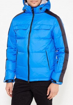 Пуховик, Baon, цвет: синий. Артикул: BA007EMWBF43. Одежда / Верхняя одежда