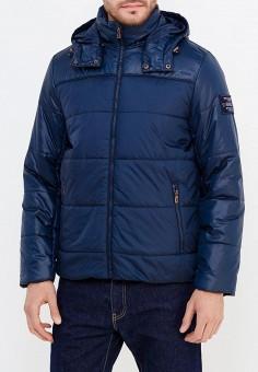 Куртка утепленная, Baon, цвет: синий. Артикул: BA007EMXUP66. Одежда / Верхняя одежда