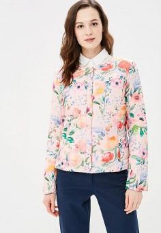 Куртка утепленная, Baon, цвет: розовый. Артикул: BA007EWAYKJ4. Одежда / Верхняя одежда / Демисезонные куртки