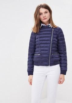 Куртка утепленная, Baon, цвет: синий. Артикул: BA007EWAYKJ8. Одежда / Верхняя одежда / Демисезонные куртки
