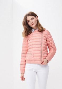 Куртка утепленная, Baon, цвет: розовый. Артикул: BA007EWAYKJ9. Одежда / Верхняя одежда / Демисезонные куртки