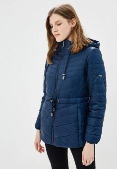 Куртка утепленная, Baon, цвет: синий. Артикул: BA007EWAYKK0. Одежда / Верхняя одежда / Демисезонные куртки