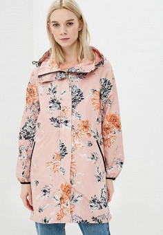 Парка, Baon, цвет: розовый. Артикул: BA007EWAYKL4. Одежда / Верхняя одежда / Парки