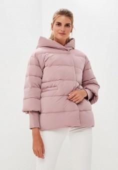 Пуховик, Baon, цвет: розовый. Артикул: BA007EWCLBG2. Одежда / Верхняя одежда
