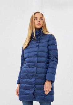 Пуховик, Baon, цвет: синий. Артикул: BA007EWCLBG6. Одежда / Верхняя одежда