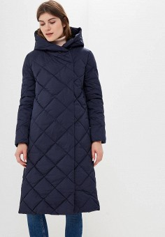 Пуховик, Baon, цвет: синий. Артикул: BA007EWCLBH5. Одежда / Верхняя одежда / Зимние куртки