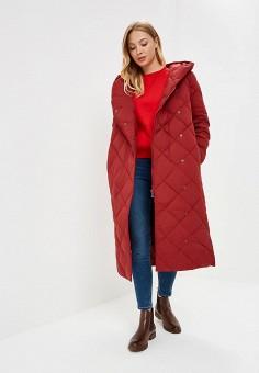 Пуховик, Baon, цвет: красный. Артикул: BA007EWCLBH6. Одежда / Верхняя одежда