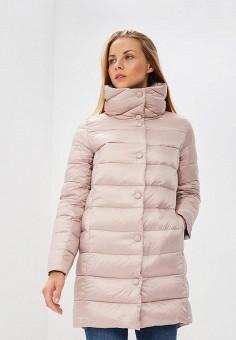Пуховик, Baon, цвет: розовый. Артикул: BA007EWCLBI7. Одежда / Верхняя одежда