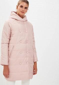 Куртка утепленная, Baon, цвет: розовый. Артикул: BA007EWCLBK7. Одежда / Верхняя одежда / Демисезонные куртки