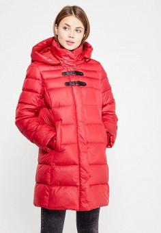 Пуховик, Baon, цвет: красный. Артикул: BA007EWWAQ55. Одежда / Верхняя одежда