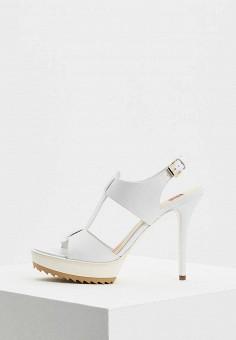 Босоножки, Ballin, цвет: белый. Артикул: BA051AWBDOV3. Premium / Обувь / Босоножки