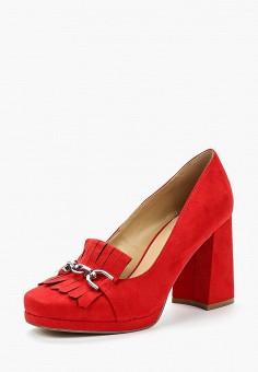 Туфли, Bata, цвет: красный. Артикул: BA060AWABIX4. Обувь / Туфли / Закрытые туфли
