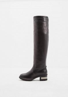 Ботфорты, Baldinini, цвет: черный. Артикул: BA097AWCEGG5. Обувь