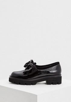 Лоферы, Baldinini, цвет: черный. Артикул: BA097AWCEGH3. Обувь