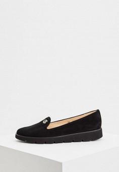 Лоферы, Baldinini, цвет: черный. Артикул: BA097AWCEGH6. Обувь