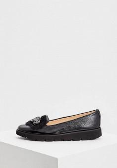 Лоферы, Baldinini, цвет: черный. Артикул: BA097AWCEGH7. Обувь