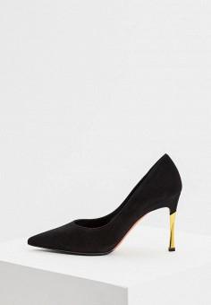 Туфли, Baldinini, цвет: черный. Артикул: BA097AWCEGI2. Обувь