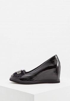 Туфли, Baldinini, цвет: черный. Артикул: BA097AWCEGI3. Обувь