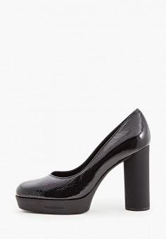 Туфли, Baldinini, цвет: черный. Артикул: BA097AWCEGI4. Обувь