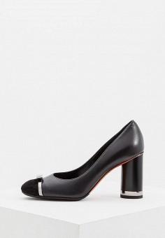 Туфли, Baldinini, цвет: черный. Артикул: BA097AWCEGI6. Обувь