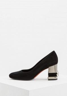Туфли, Baldinini, цвет: черный. Артикул: BA097AWCEGI7. Обувь