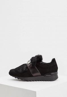 Кроссовки, Baldinini, цвет: черный. Артикул: BA097AWCEGI8. Обувь