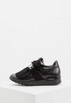 Кроссовки, Baldinini, цвет: черный. Артикул: BA097AWCEGI9. Обувь