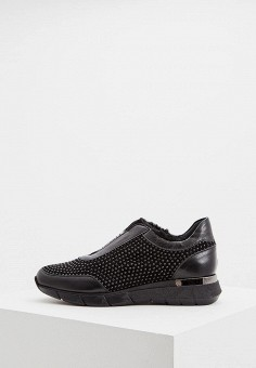 Кроссовки, Baldinini, цвет: черный. Артикул: BA097AWCEGJ1. Обувь