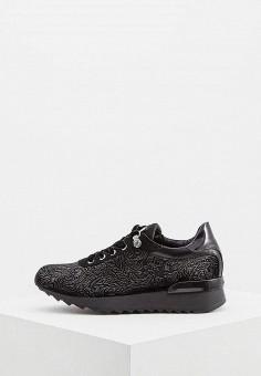 Кроссовки, Baldinini, цвет: черный. Артикул: BA097AWCEGJ2. Обувь