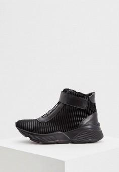 Кроссовки, Baldinini, цвет: черный. Артикул: BA097AWCEGJ3. Обувь