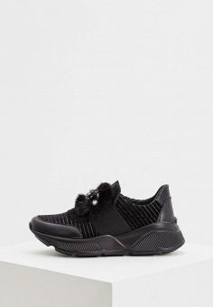 Кроссовки, Baldinini, цвет: черный. Артикул: BA097AWCEGJ4. Обувь