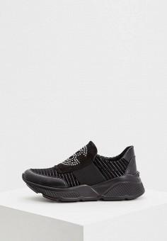 Кроссовки, Baldinini, цвет: черный. Артикул: BA097AWCEGJ5. Обувь