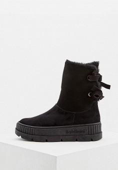 Полусапоги, Baldinini, цвет: черный. Артикул: BA097AWCEGL7. Обувь